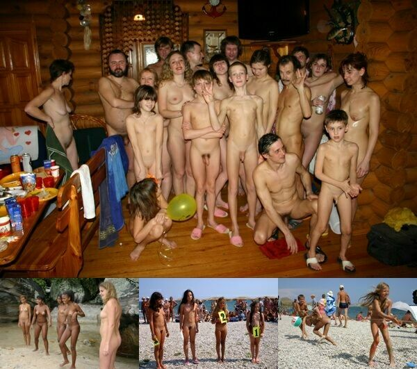Girls nudist summer family