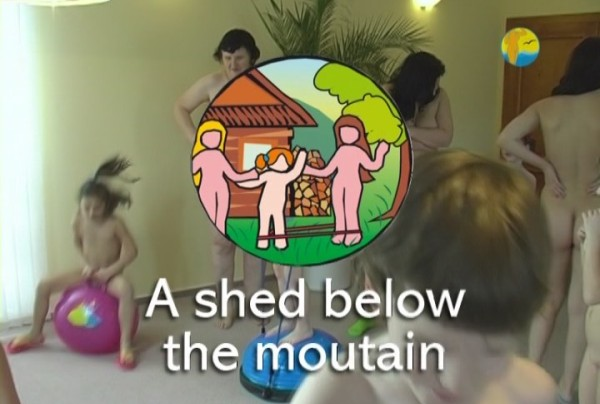 A Shed below the mountain - Naturist Freedom