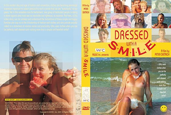 Dressed with a Smile - Family Naturism
