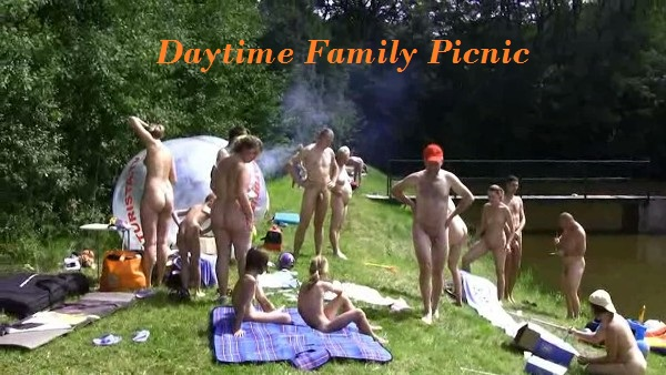 Family nudism Picnic
