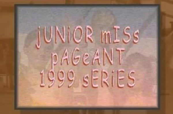 Junior Miss Pageant 1999