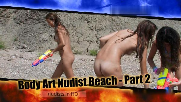 Body Art Nudist Beach