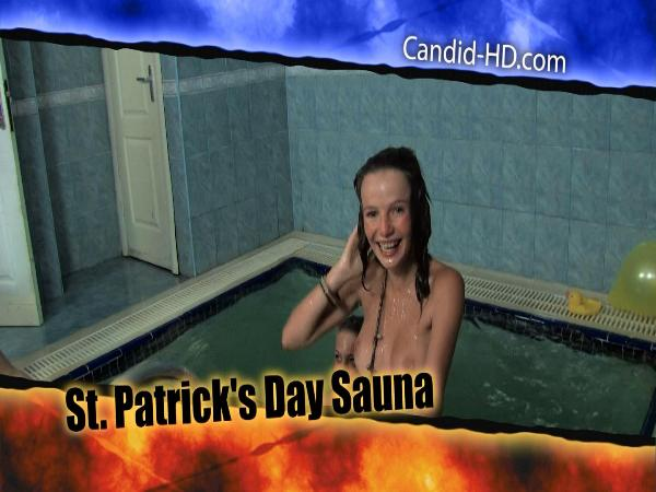 St. Patricks Day Sauna