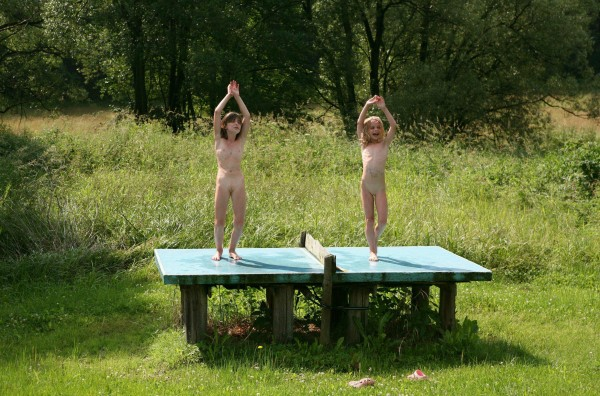 Pure Nudism Family Outdoors Fields [Family Nudism 2014]