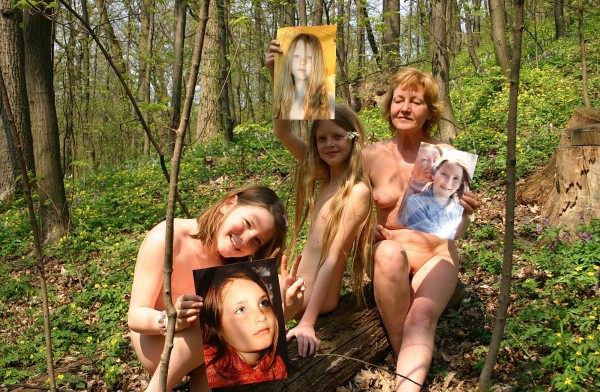 Young Family HollyNature [Pure Nudism Family]