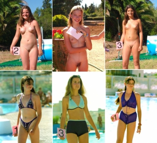 Topic, very junior nude beauty contest something similar?