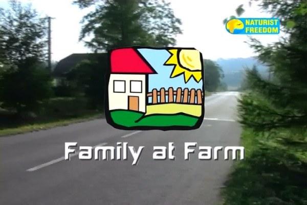 Family at Farm [Naturist Freedom 2015]