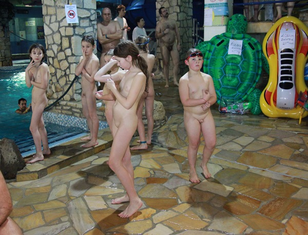 Family Nudist Pictures - Mid-Winter EU Waters Purenudism 2016