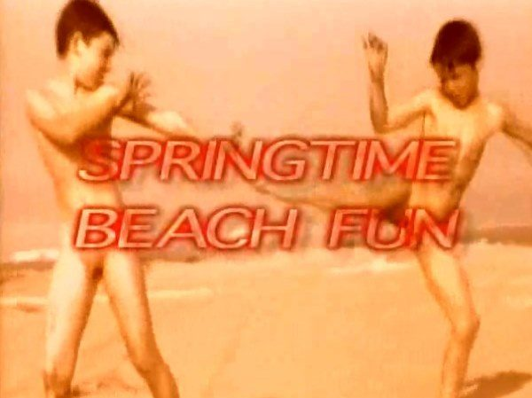 Spring Time Beach Fun